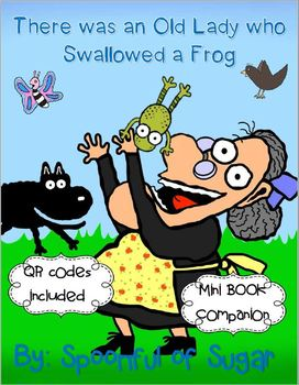 There Was an Old Lady Who Swallowed a Frog (Book Companion)