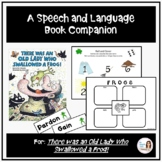 """""""There Was an Old Lady Who Swallowed a Frog!"""" Speech and Language Companion"""