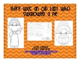 There Was an Old Lady Who Swallowed a Pie-retelling props