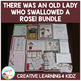 There Was an Old Lady Who Swallowed a Rose! Set