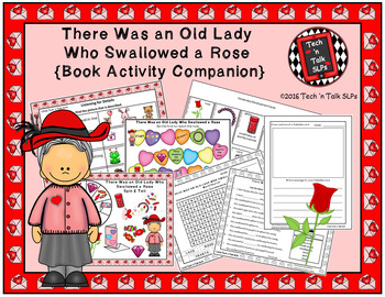 There Was an Old Lady Who Swallowed a Rose (Book Activity