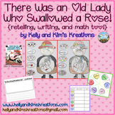 There Was an Old Lady Who Swallowed a Rose! {retelling, wr