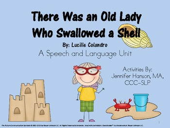 There Was an Old Lady Who Swallowed a Shell Companion Pack with Icons