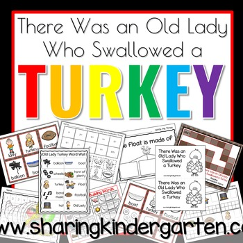 There Was an Old Lady Who Swallowed a Turkey