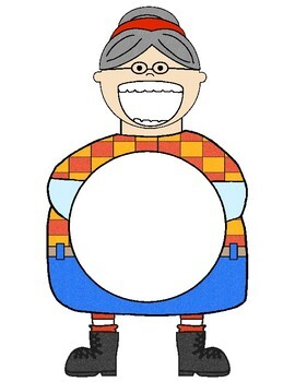 There Was an Old Lady Who Swallowed a Turkey! {Retelling, Writing, & Math}