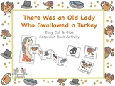 There Was an Old Lady Who Swallowed a Turkey Sequencing + Questions (Color/B+W)