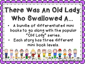 There Was an Old Lady Who Swallowed.....(mini-books)