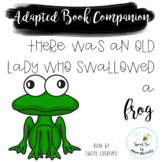 There Was an Old Lady who Swallowed Frog Adapted Book