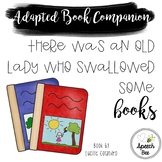There Was an Old Lady who Swallowed Some Books Adapted Book