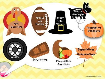 There Was an Old Lady who Swallowed a Turkey: Speech and Language Activities