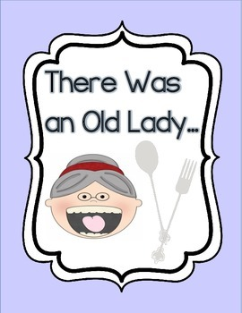 There Was an Old Lady...Writing Template