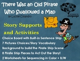 There Was an Old Pirate who Swallowed a Map; Story Picture