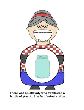 There Was and Old Lady...Swallowed Some Trash (and Recyclables)