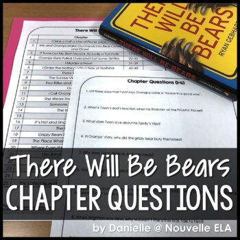 There Will Be Bears - Chapter Questions