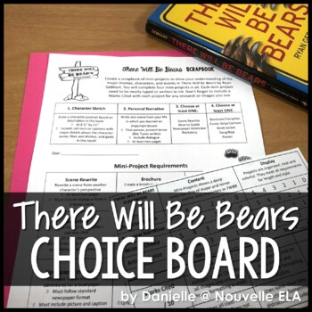 There Will Be Bears - Scrapbook Project