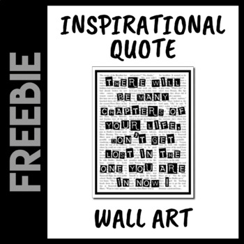 There Will Be Many Chapters In Your Life Wall Art