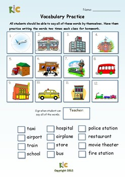 There and Be-Verbs ESL Sample Pack