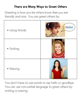 Social Skill Basics: There are Many Ways to Greet Others