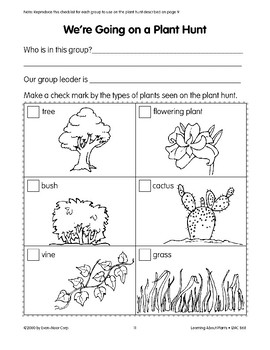 There are many kinds of plants in many kinds of environments.