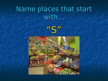 There is / There are (Places) PPt