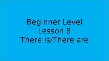 There is/There are for beginners
