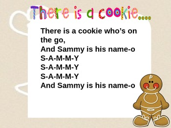 There is a cookie...