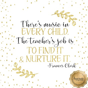 There's Music in Every Child Poster