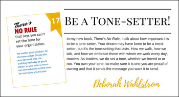 There's No Rule: Character in Leadership