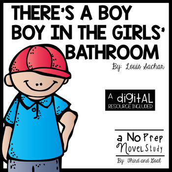 There 39 s a boy in the girls 39 bathroom by third and goal tpt for The boy in the girls bathroom