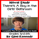 There's a Boy in the Girls' Bathroom Novel Study and Project Menu
