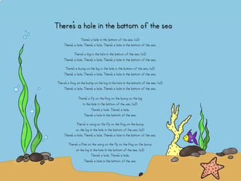 There's a Hole in the Bottom of the Sea CanE