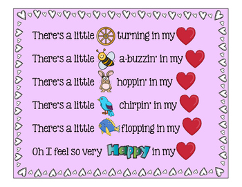 There's a Little Wheel: Valentine Song Posters and Creativity