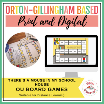There's a Mouse in my School House (an ou board game) Orton-Gillingham