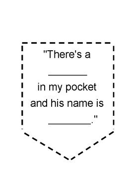 image regarding Wocket in My Pocket Printable named Wocket Within just My Pocket Actions Worksheets Academics Shell out