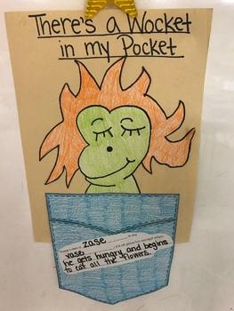 photo regarding Wocket in My Pocket Printable named Wocket Inside My Pocket Routines Worksheets Instructors Spend