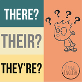 There, their or they're? High quality, free worksheet.