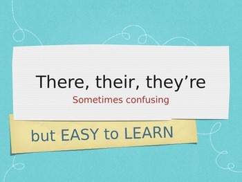 There, their, they're easy to learn with these tricks