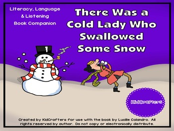 There was a Cold Lady Who Swallowed Some Snow Book companion
