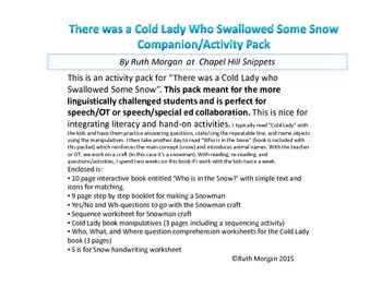 There was a Cold Lady who Swallowed Some Snow-Activity Pack for EC Collaboration