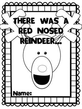 There was a Red Nosed Reindeer... Story writing activity