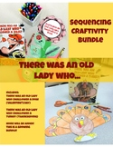There was an Old Lady Who.... Sequencing Activity Bundle