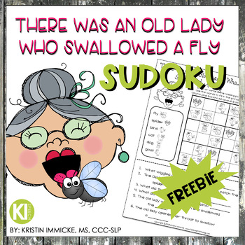 There was an Old Lady Who Swallowed A Fly Sudoku Companion