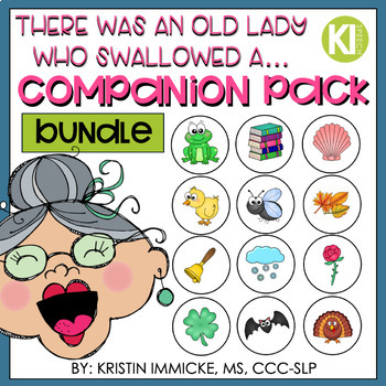 There was an Old Lady Who Swallowed A...Sudoku Companion Bundle