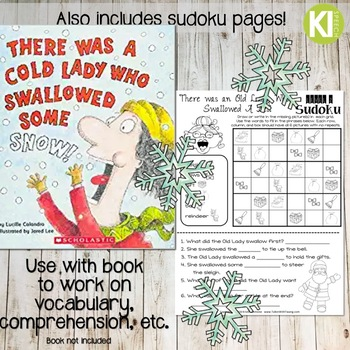 There was an Old Lady Who Swallowed Some Snow Sudoku Companion