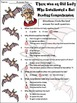 Old Lady Who Swallowed a Bat Halloween Activity Packet - Color