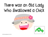 There was an Old Lady Who Swallowed a Chick: iPad Comprehension Questions