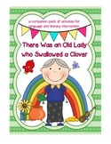There was an Old Lady Who Swallowed a Clover: Language & Literacy Intervention