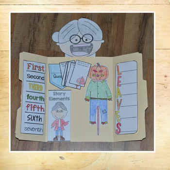 There was an Old Lady who Swallowed Some Leaves Lapbook