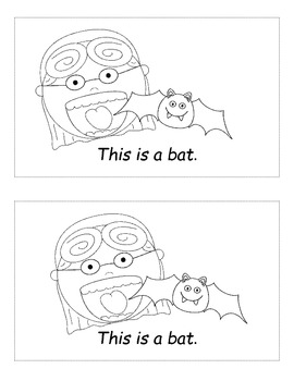 There was an Old Lady who Swallowed a Bat Emergent Readers (2 Sets)