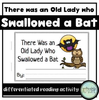 There was an Old Lady who Swallowed a Bat - visuals and ac